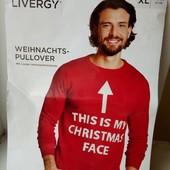 Мужской свитер 56 размер 2-3хл, Livergy Германия