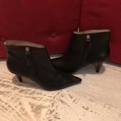 Ботинки із натуральної шкіри,від San Marina,розмір 39,стелька 26,5