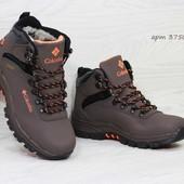 Зимние мужские ботинки Columbia brown