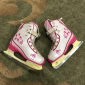 Детские коньки для девочки