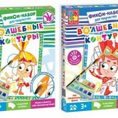Волшебные контуры Фиксики VT4402 vladi toys раскраска рисование VT4402-21/22