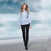 Узкие брюки в джинсовом стиле – модное решение на каждый день от tchibo, германия