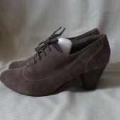 Замшевые туфли, ботильоны Janet D 40 р.