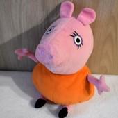 Мягкая игрушка Мама Свинка из мультфильма Свинка Пеппа, 30 см