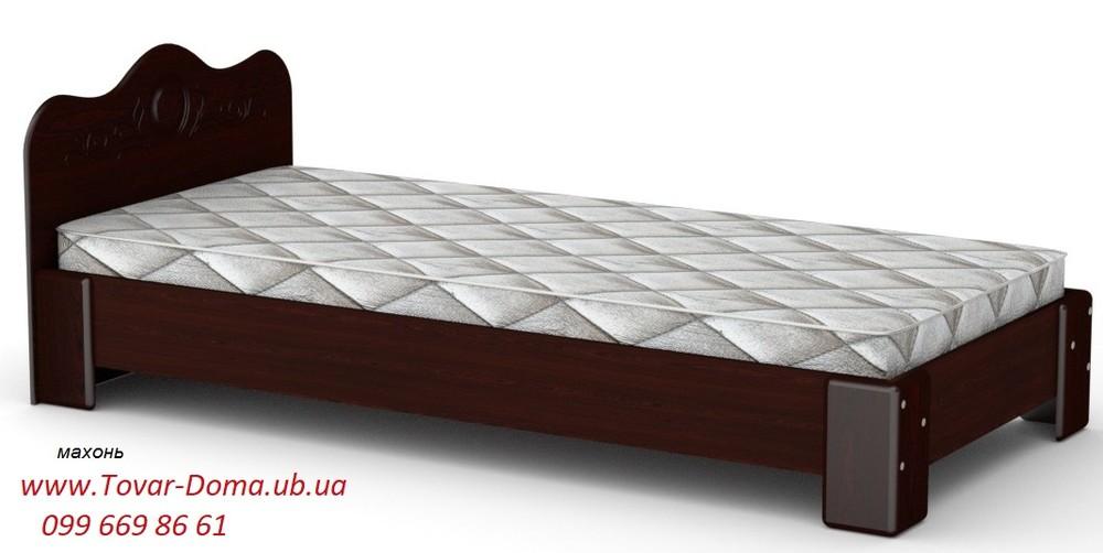 Недорогая кровать односпальная 90х200 фото №1