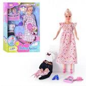 Кукла с акссесуарами беременная DEFA 8009