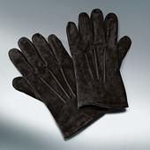мужские замшевые перчатки от тсм tchibo. Р-р 9,5