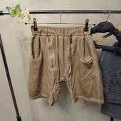 Короткие шорты бойфренды с потертостяи размер М/л унисекс, свободные