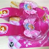 Туфли с принцессой для девочки V133-1