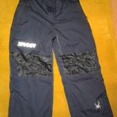 Зимние  штаны Spyder на мальчика 8-10 лет.