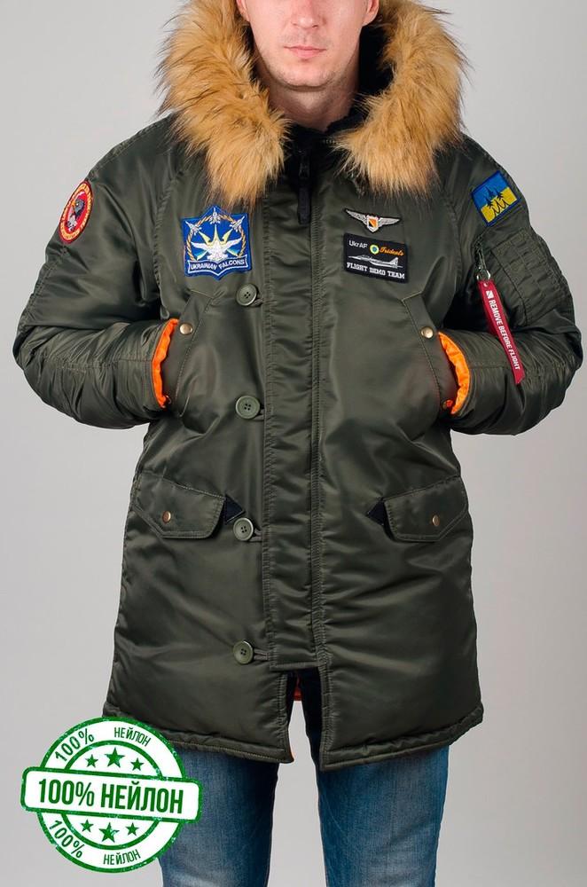 Парка, куртка olymp alyaska для патріотів, р. s-5xl, нейлон, -30c, код cve-0008 фото №1