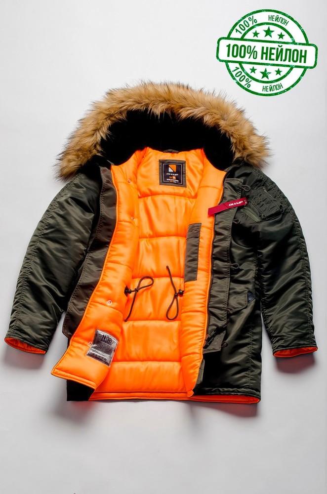 Парка, куртка olymp alyaska для патріотів, р. s-7хл, нейлон, -30c, код cve-0008 фото №3