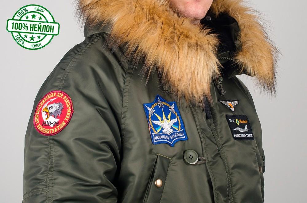 Парка, куртка olymp alyaska для патріотів, р. s-7хл, нейлон, -30c, код cve-0008 фото №4