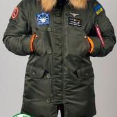 Парка, куртка Olymp Alyaska для патріотів, р. s-5xl, нейлон, -30C, код cve-0008