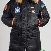 Парка, куртка Olymp Alyaska для патріотів, р. s-5xl, нейлон, -30C, код cve-0009
