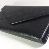 Шикарный женский кошелек черного цвет