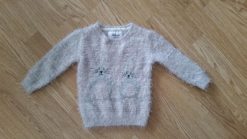 """Фирменный свитер травка """"Зайки"""" Y.D, 2-4года фото №1"""