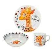 Набор детской посуды Жираф