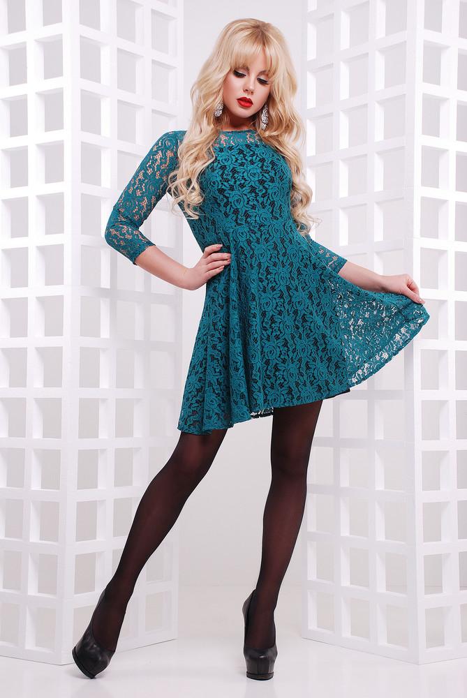 Женское кружевное платье фото №1