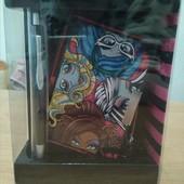 Набор: блокнот+ ручка Monster High