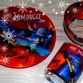 Набор Посуды Ниндзяго,Подарочный!