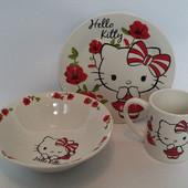Детский набор посуды из керамики