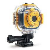 VTech Kidizoom экшн-камера для детей от 4 лет водонепроницаемая action cam yellow/black