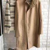 Мужское шерстяное пальто Calvin Klein оригинал рр XL