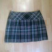 Фирменная полушерстяная юбка XL