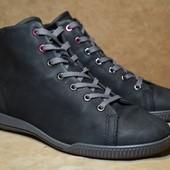 Ботинки кожаные Ecco. Индонезия. Оригинал. 39 р. / 25.5 см.