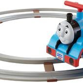 Fisher-Price Железная дорога томас для детей каталка power wheels thomas friends train with track