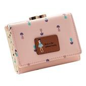 Стильный вместительный кошелек, 3 цвета, новый