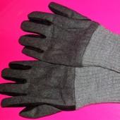 Оригинальные шерстяные брендовые перчатки