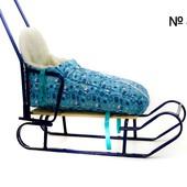 Конверт матрасик в санки коляску