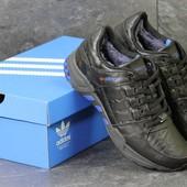 Зимние кроссовки Adidas Equipment black/blue