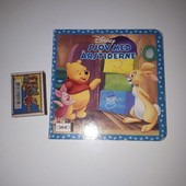 Детская картонная книжечка Disney