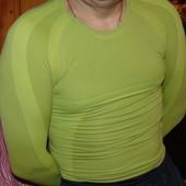 Спортивная фирменная термо кофта худи рашгард Crane (Крейн) .s-m.14-16 лет .