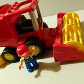 Комбайн lego duplo