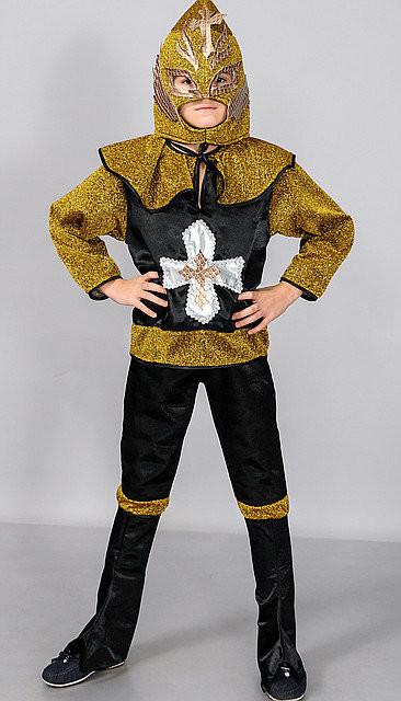 Детские карнавальные костюмы рыцаря, возраст 4- 7 лет фото №1