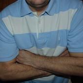 Брендовая стильная футболка тениска поло Yves Saint Laurent хл .