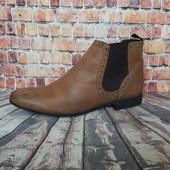 Ботинки кожаные Asos 43 р.