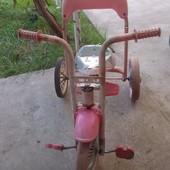 Велосипед трёхколёсный от 2 до 5 лет.