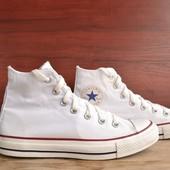 -Converse All Star White -Original -made in Indonesia -размер 38 / 24 см -состояние отличнейшее (обу