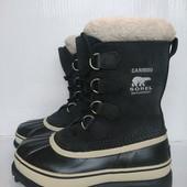 Мега зима ботинки сапоги Sorel waterproof Garibou на 37.5-38р. EUR39