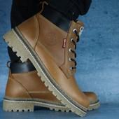 Ботинки зимние, р 40-45, на меху, код gavk-10566