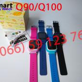 Q100 они же Q90. Оригинальные Детские часы smart baby watch от производителя