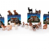 Мягкие маленькие собачки от Pocket Box Италия Породы собак в закрытой упаковке фигурки микро-фигурки