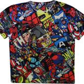 Мужская футболка цветная яркая сочная Marvel xl l M