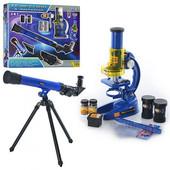 Крутой детский Микроскоп и телескоп 2 в 1 cq 031