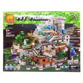 """Конструктор Lele 33067 """"Горная пещера Minecraft"""" ,2052 дет."""